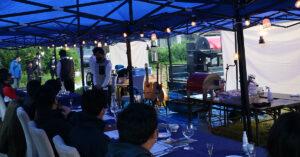 400度の炎の宴~鳥取砂丘編~テストイベント実施しました。