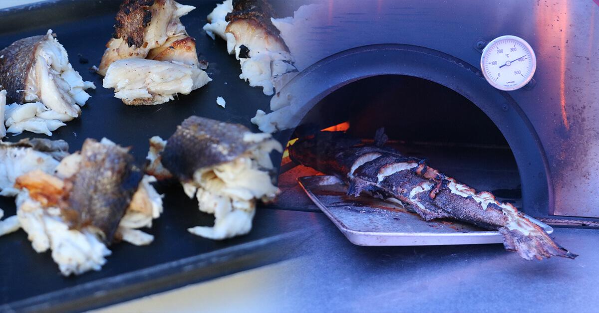 400度の炎の宴~鳥取砂丘編~お魚のグリル