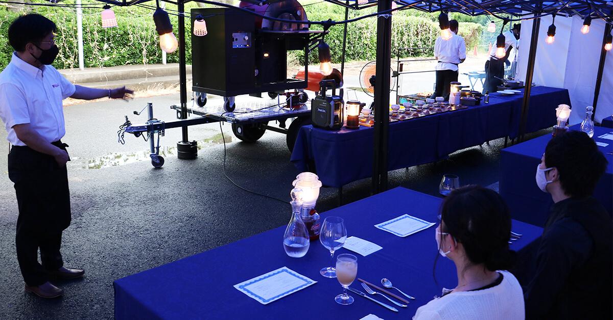 薪ストーブやペレット窯を活かしたこれまでにない屋外飲食イベントの在り方を完成させるために今後も精進していきます
